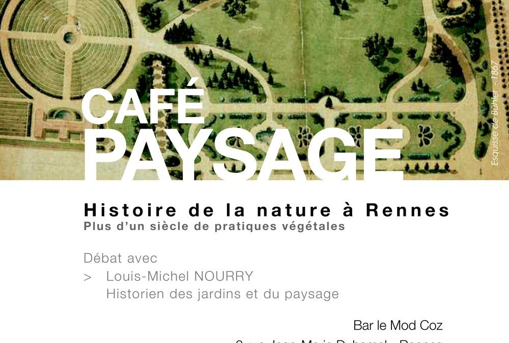 Café Paysage à Rennes