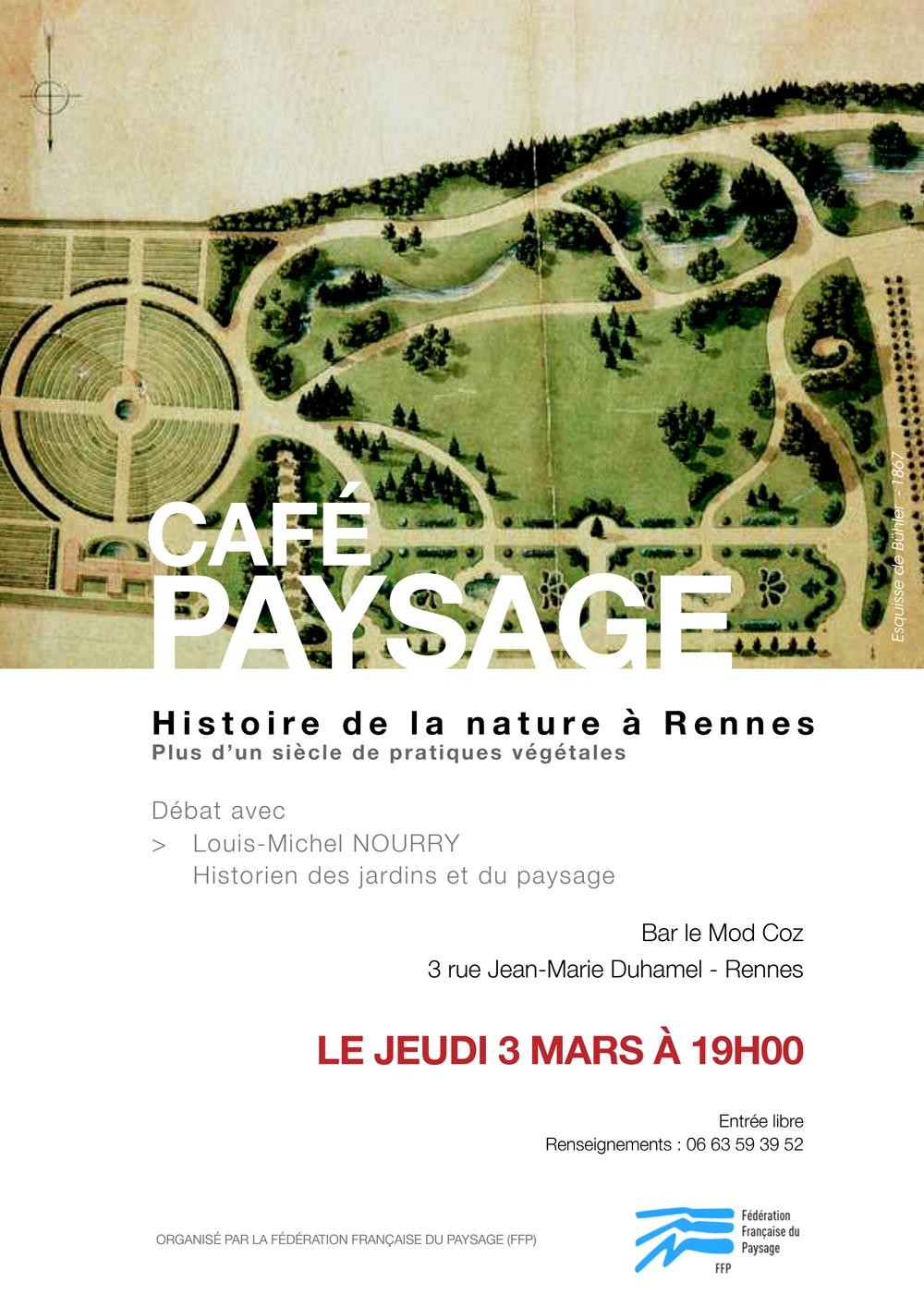 Café Paysage avec Louis-Michel Nourry