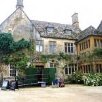 L'entrée d'Hidcote Manor
